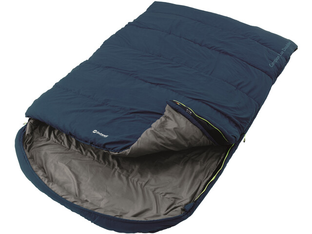 Outwell Campion Lux Double Sleeping Bag Blue